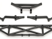 Team Associated 9817 sc10 rear bumper & brace