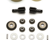 Team Associated 9827 sc10 complete gear diff