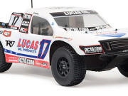 Team Associated 9856 sc10 '09 bodyshell lucas oil