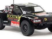 Team Associated 9862 1/10 sc10 '09 bodyshell rockstar-makita
