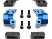 Team Associated AS9866 b44 factory team aluminium rear hubs 1 deg