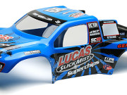 Team Associated 9886 sc10 lucas oil 'slick mist' bodyshell