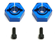 Team Associated AS9890 12mm aluminium clamping wheel hex b4.1/b44.1 rear