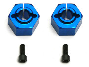 Team Associated 9892 12mm aluminium clamping wheel hex sc10 rear