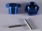 Avioracing 4600MV107B HEXAGONE JANTE 17MM BLEU