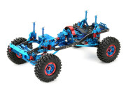 1:10 EP Crawler CR-01 metallic blue 4WD Rolling Chassis Absima