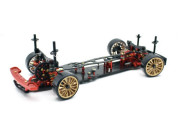 Absima 12101 1/10 EP Drift DRR-01 metallic red 2WD Rolling Chassis