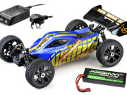 Buggy Absima AB2.8BL (4x4 1/8 RTR  Brushless inclus LiPo et chargeur anglais)