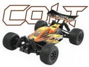 Buggy FTX Colt 1/18 Brushed complet RTR orange / noir FTX
