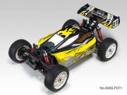 TT 1/8 brushless EB-4 G3 + radio 2.4Ghz + Brushless 150A + vario (Jaune)