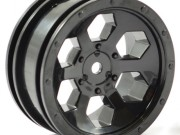 FTX FTX8168B 6hex wheel (2) - black FTX Outback