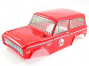 FTX FTX8191R painted treka bodyshell - red FTX Outback
