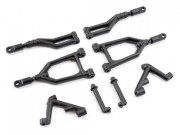 FTX FTX8545 suspension arms (upper)+braces+side body posts Sidewinder