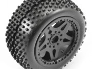 FTX FTX8548 wheels complete mounted rear Sidewinder