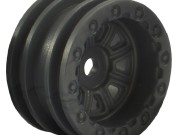 wheel set - black (4pc) Mini OutBack FTX