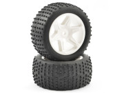 ftx comet buggy rear mounted tyre & wheel white FTX