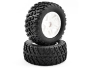 FTX FTX9066W ftx comet desert buggy front mounted tyre & wheel white