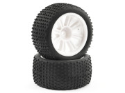 ftx comet truggy rear mounted tyre & wheel white FTX