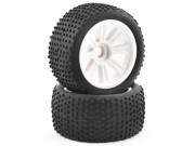 ftx comet truggy front mounted tyre & wheel white FTX