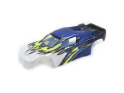 ftx comet truggy bodyshell painted blue/yellow FTX