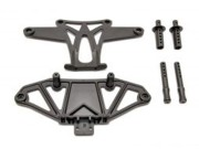 Hobao H85036 hobao hyper vt front bumper set with body post