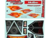 Hobao H11037 Hyper 10 sc decal set
