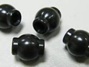 Hobao H87043A Alu. hex ball end for rear top arm (4pcs)