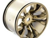 hobao hyper mt chrome bronze wheel