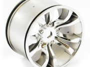 hobao hyper mt chrome silver wheel