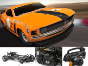 HPI Baja 5R Ford Mustang RTR