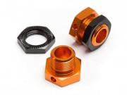Hpi 8700101785 hexagone de roue 5mm orange