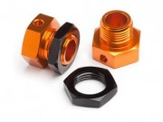 Hpi 8700101792 hexagones roue 6.7mm orange buggy