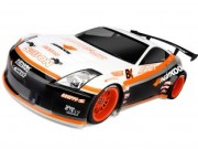Hpi 8700103886 carrosserie nissan 350z hankook body (200mm non peinte)