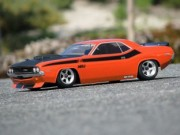 Hpi 8700105106 carrosserie 1970 dodge challenger body (200mm non peinte)