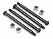 Hpi 106712 e-clip eliminator suspension shaft set