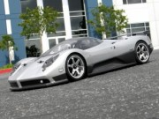 Hpi 870017523 Carrosserie PAGANI ZONDA F CLEAR BODY (200mm non peinte)