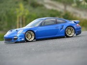 Hpi 870017527 carrosserie porsche 911 turbo (997) body (200mm non peinte)