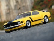Hpi 870017546 carrosserie 1970 ford mustang boss 302 body (200mm non peinte)