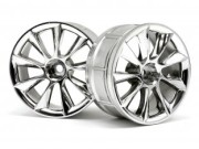 Hpi 33462 jante lp29 atg rs8 chrome