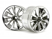 Hpi 33463 jante lp32 atg rs8 chrome
