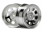 Hpi 87003743 Jante STOCK CAR  26mm CHROME (deport 1mm)