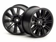 Hpi 87003771 jante 10 spoke motor sport noir  26mm