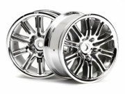 Hpi 87003772 jante 10 spoke motor sport chrome 26mm