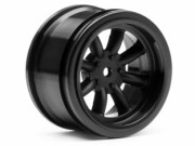 Hpi 3811 Jante VINTAGE 8 SPOKE 31mm BLACK