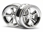 Hpi 87003817 jante vintage 5 spoke  26mm shiny