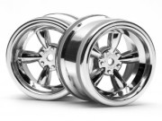 Hpi 3822 jante vintage 5 spoke 31mm shiny