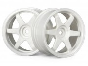 Hpi 87003840 jante te37  26mm white (deport 3mm)