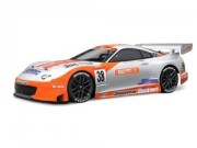 Hpi 7486 TOYOTA SUPRA GT BODY 200mm (transparente avec decal et masque)
