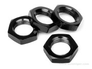 Hot Bodies 67492 ecrous de roue 17mm noir s4 d8