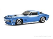 Hpi 100473 Carrosserie chevrolet 1967 bleu 200mm